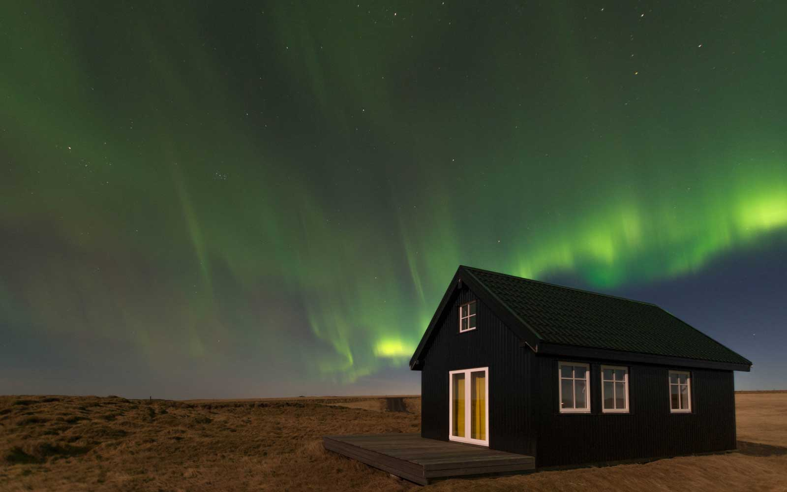 this tiny cabin in iceland might be the best place to