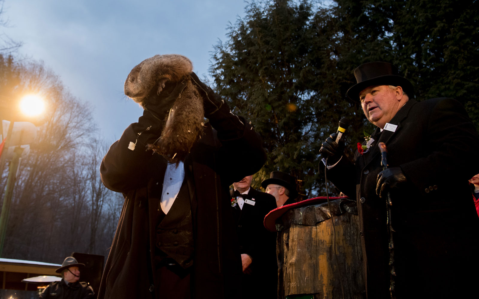 Punxsutawney Phil Makes His Prediction for 2017