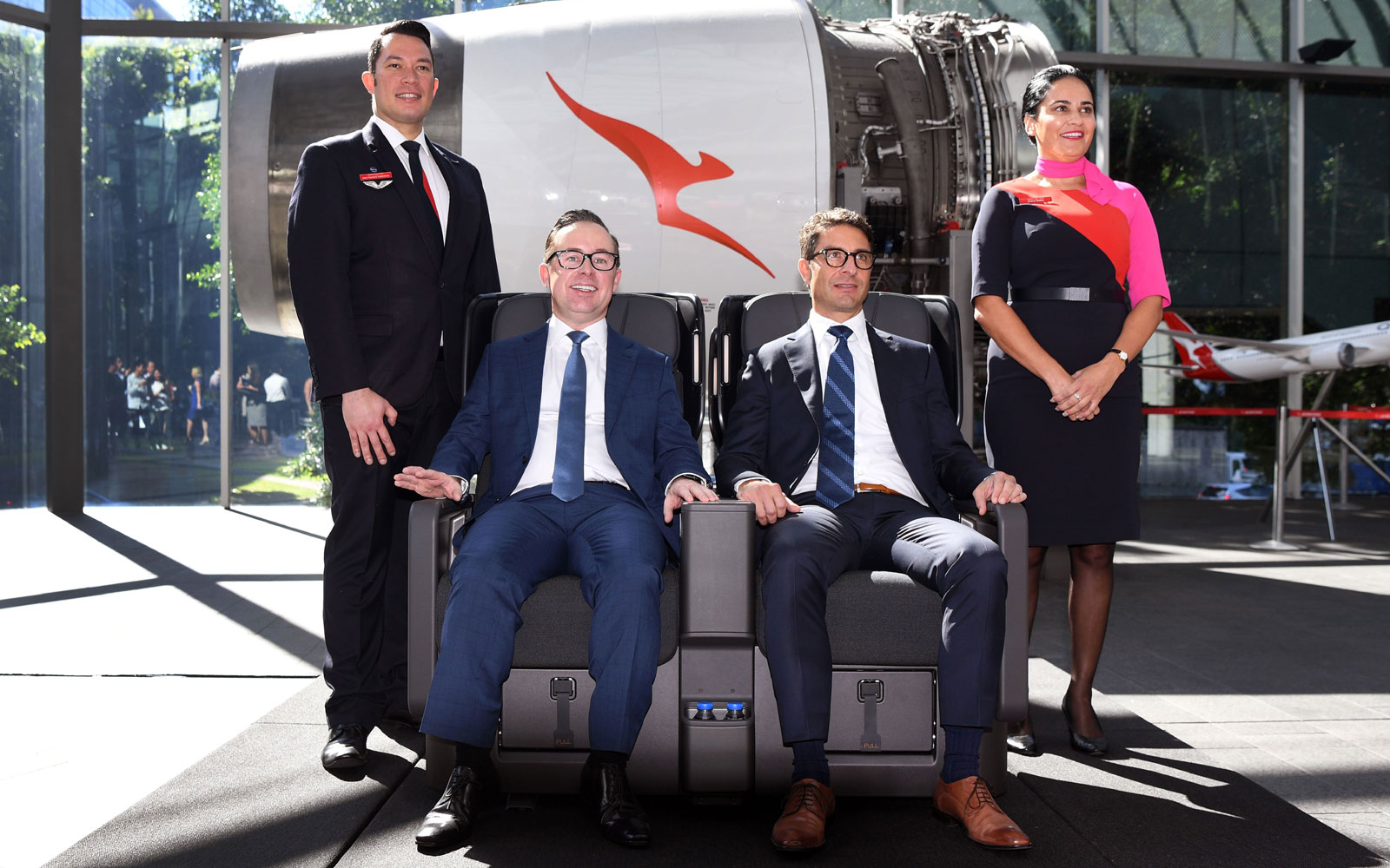 Qantas' New Premium Economy Seats Will Cradle You Like a Baby