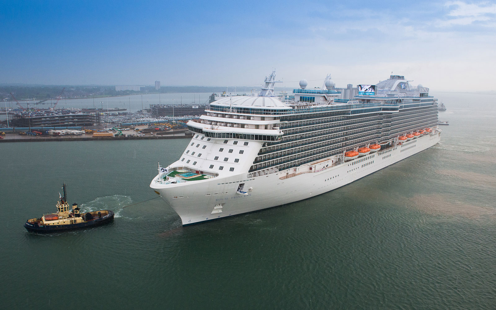 Five Things to Know About Princess Cruises' Regal Princess Cruise Ship
