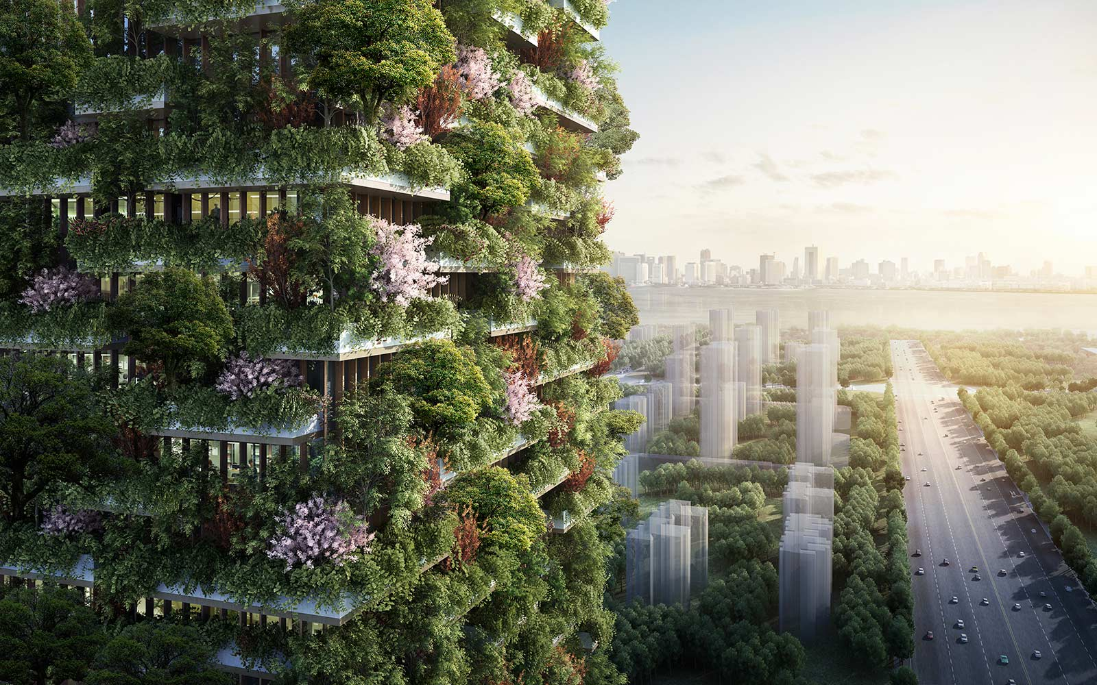 China Is Building a Vertical Forest to Combat Greenhouse Gas Emissions