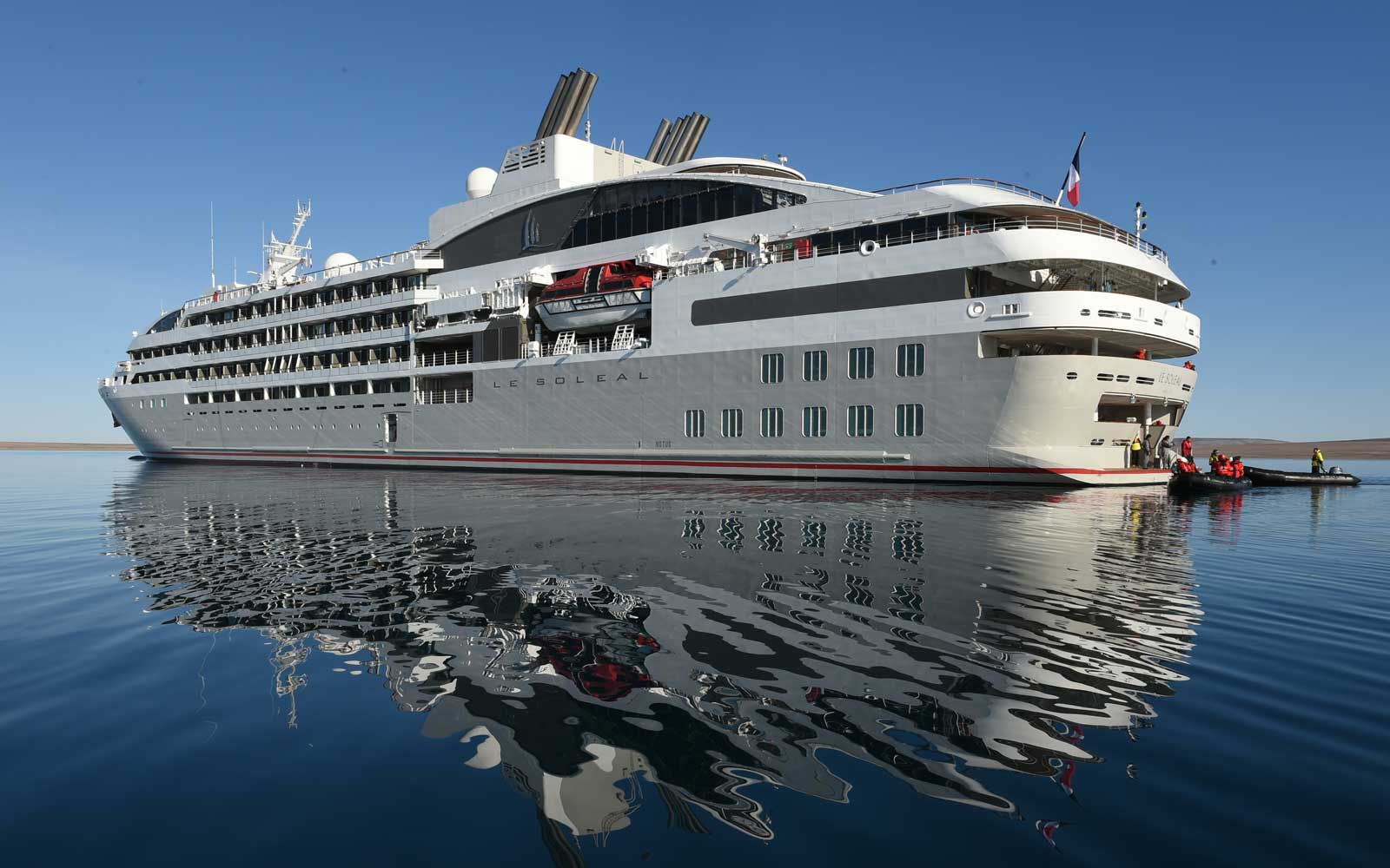 Five Things to Know About Ponant's Le Soléal Cruise Ship