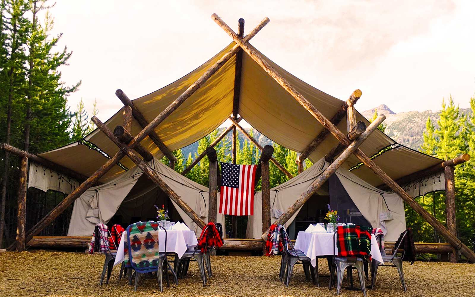 Yellowstone Glamping: Lakeside Teepees With a Personal Chef