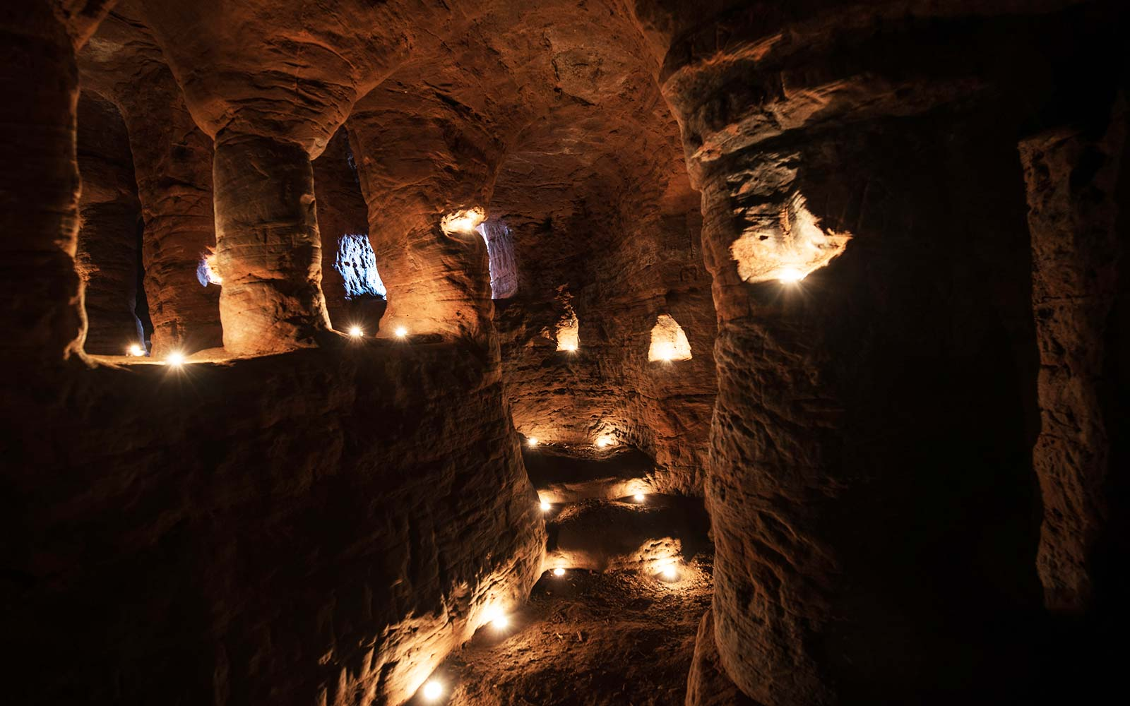 Medieval Cave System Used By Knights Templar Found by Photographer