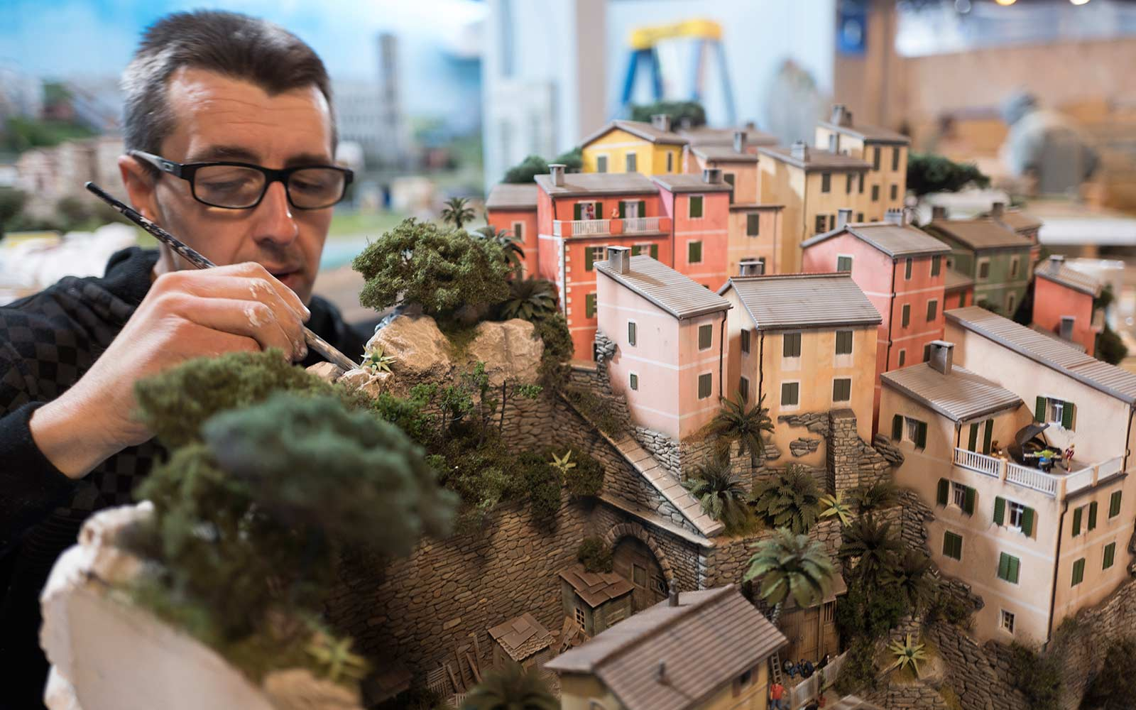 There's an Entire Miniature World That Fills This New York City Block