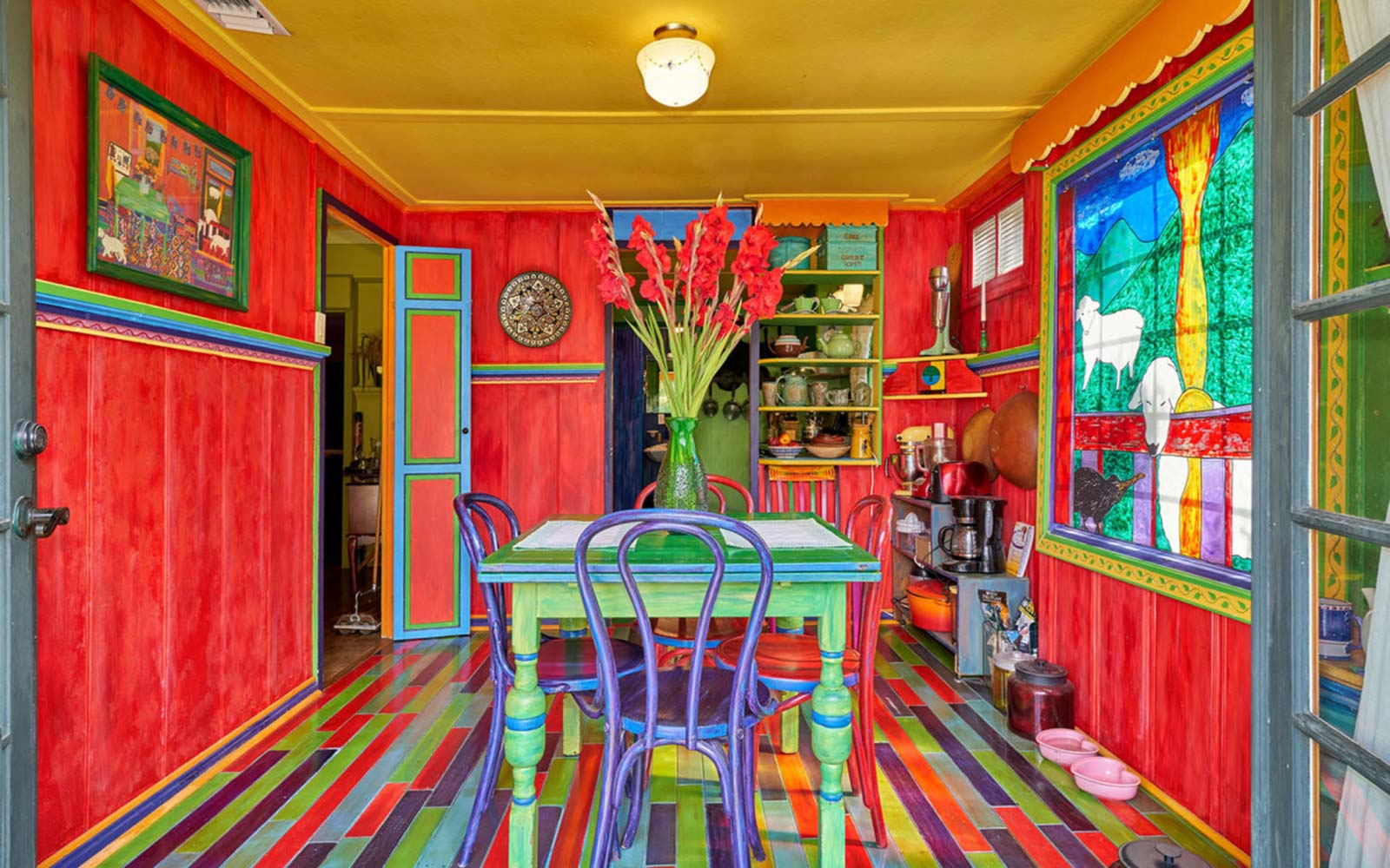 Palm Springs' Most Colorful Cottage Is for Sale, Just in Time for Coachella