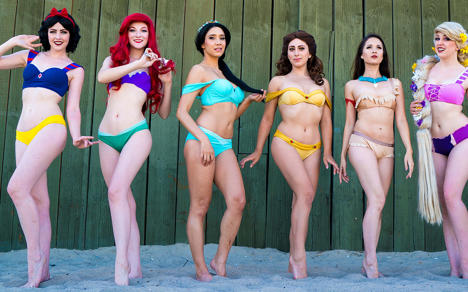 This Disney Princess-Inspired Bikini Line Will Make Your Next Spring Break an Enchanted One