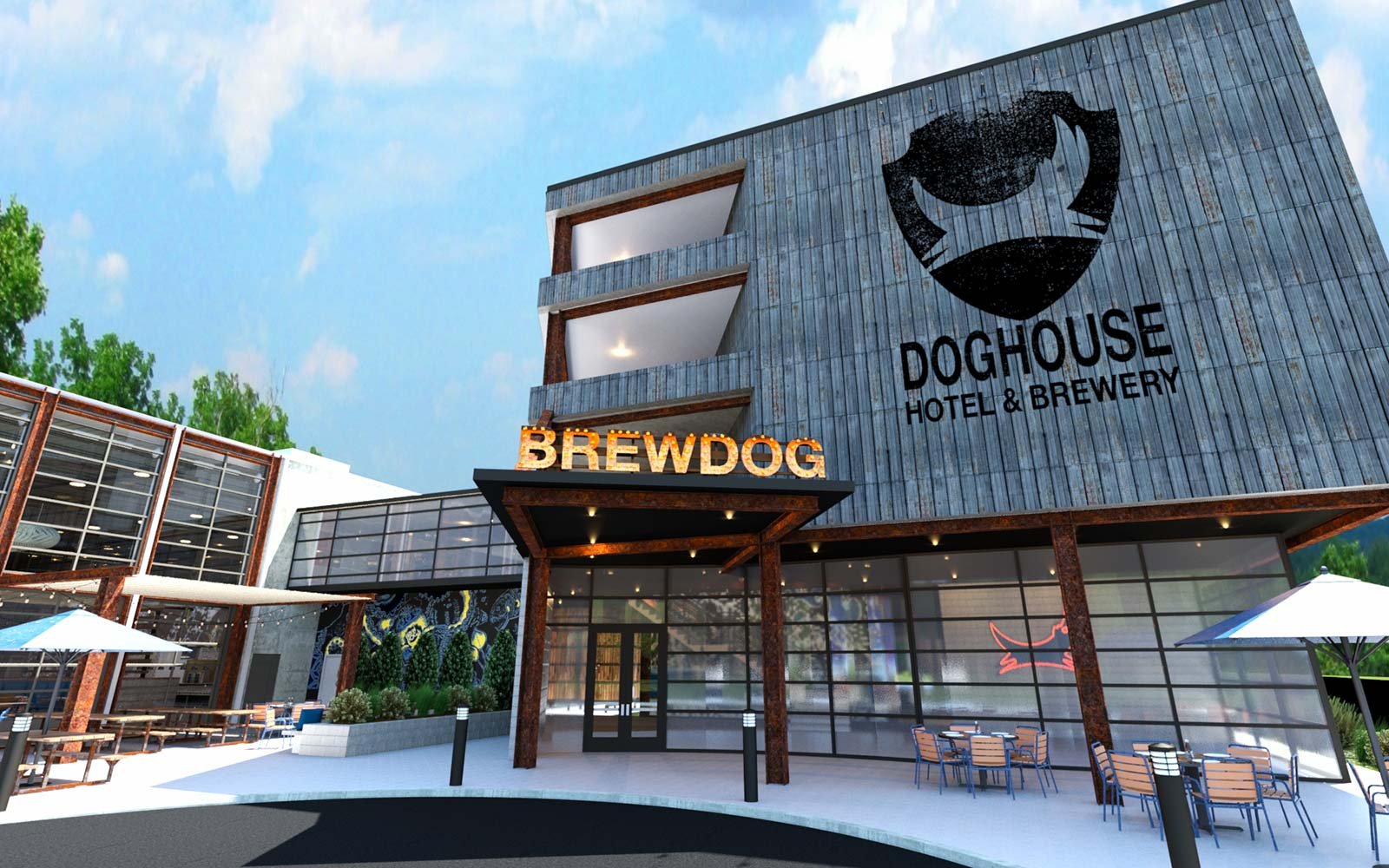 This Beer Hotel in Columbus Will Have an IPA-filled Hot Tub and a Minibar in the Shower