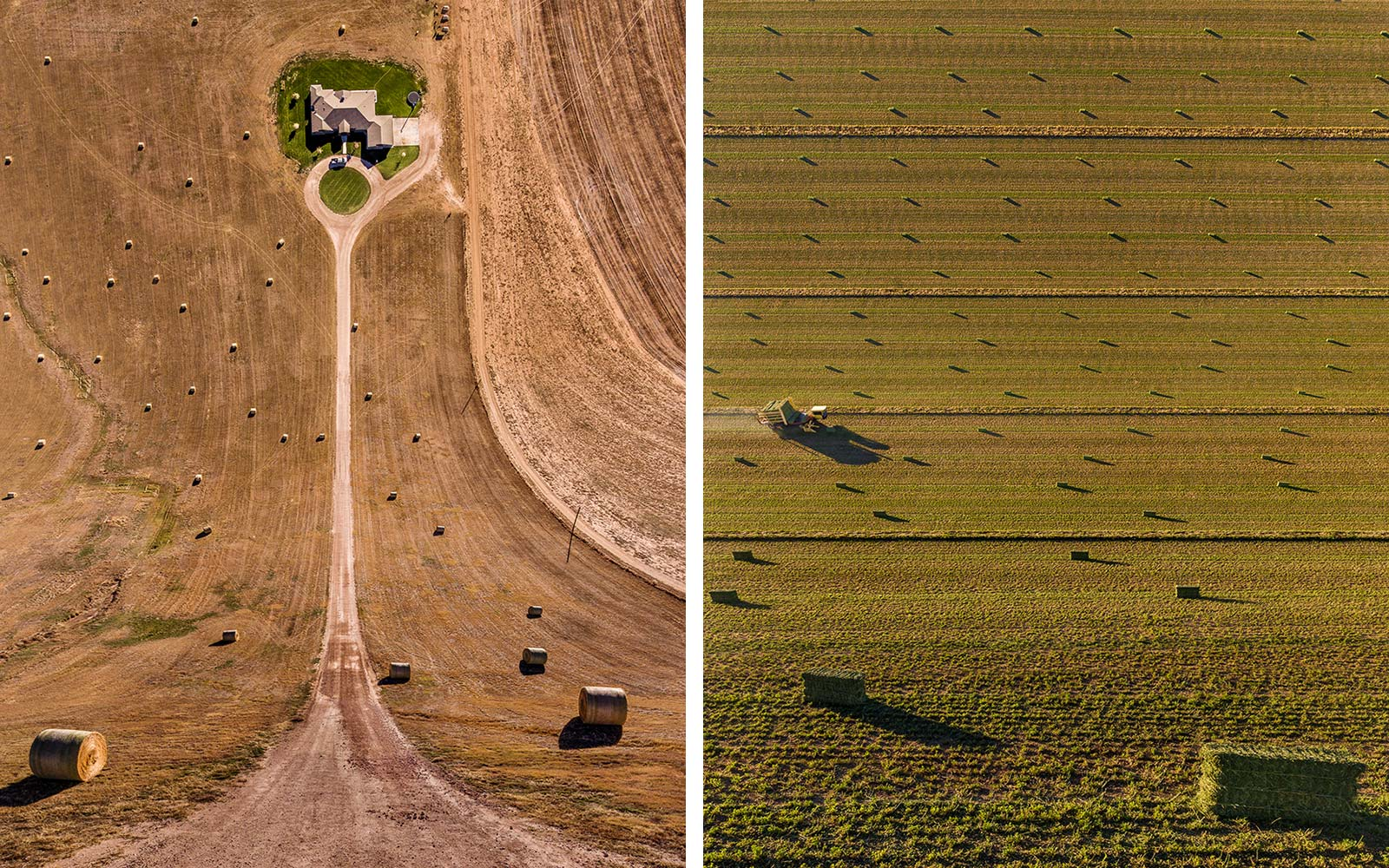 Aerial American Flatlands Photography