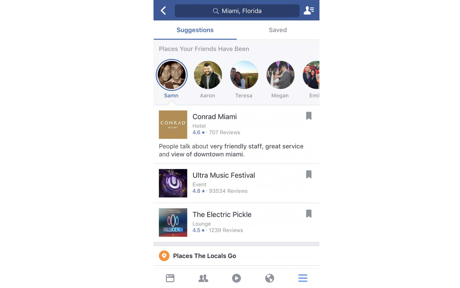 how to set close friends on facebook mobile