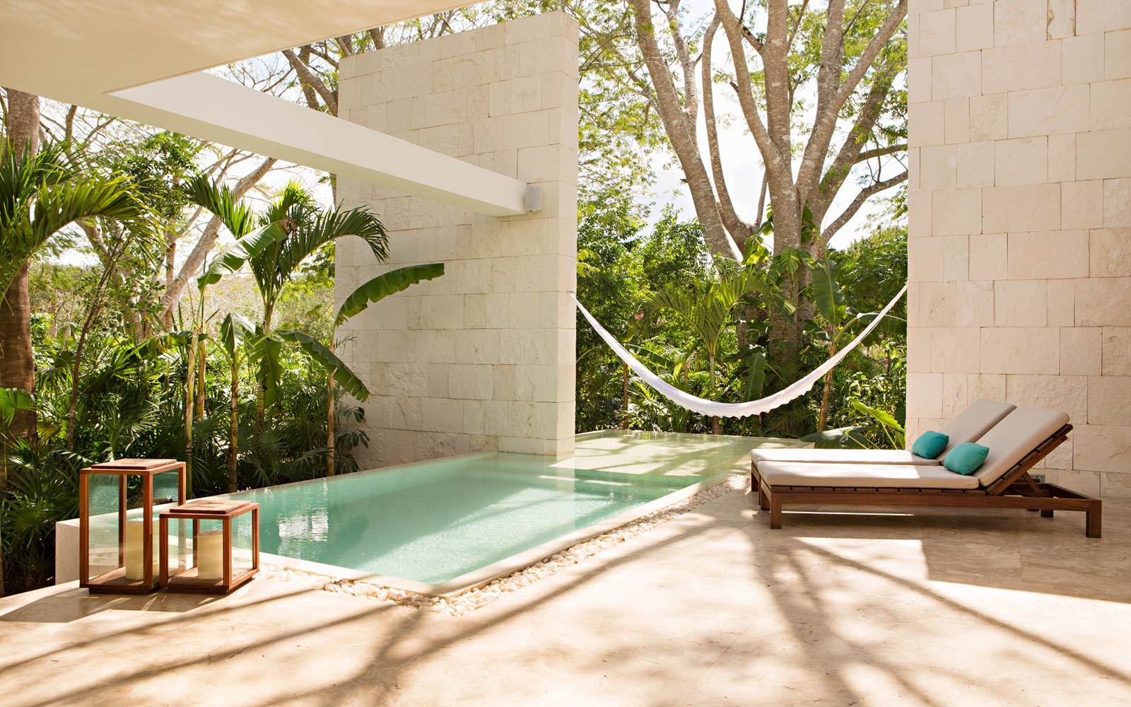 King Villa Pool, Chable, Mexico