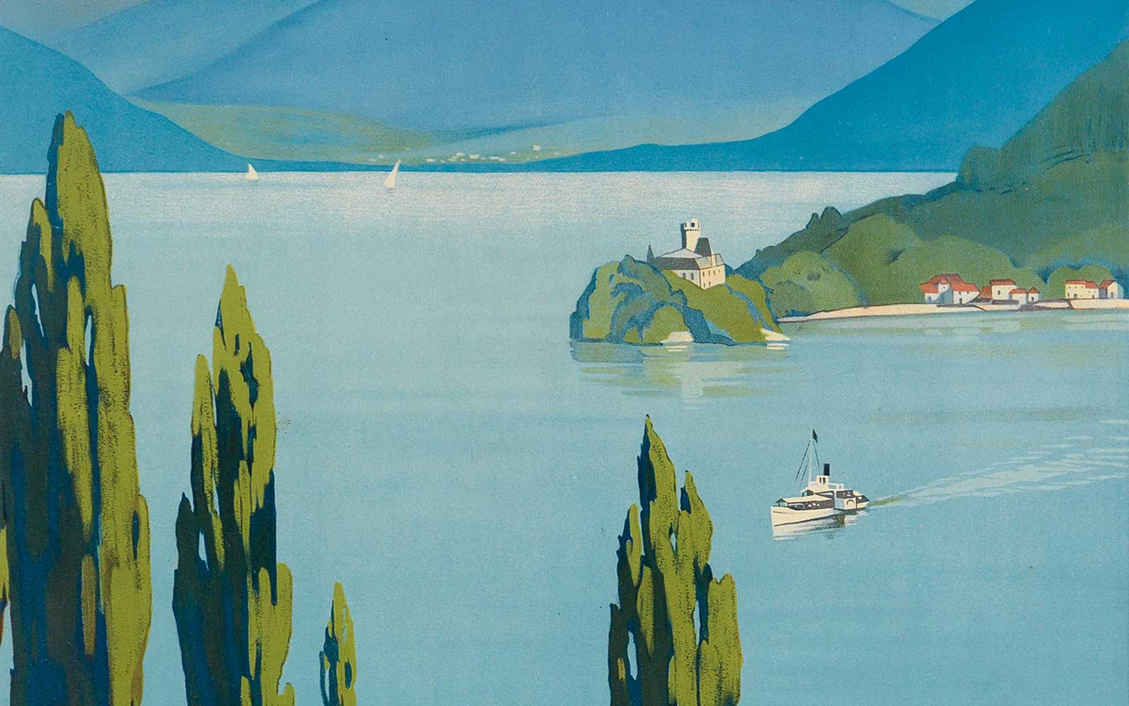 Experience the Glamour of Travel With These Vintage Posters
