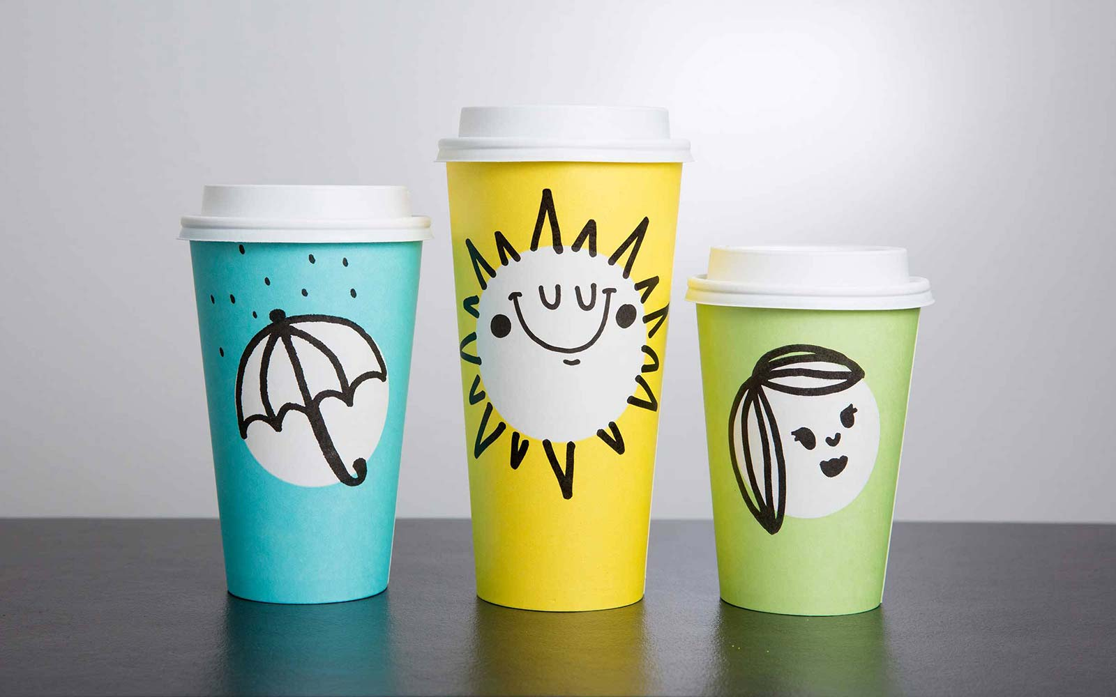 Starbucks Is Making Colorful New Cups for Spring