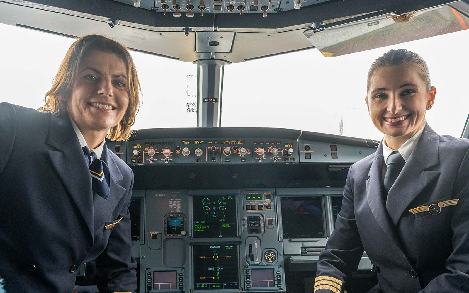 Lufthansa Put All-female Flight Crews in Control on International Women's Day