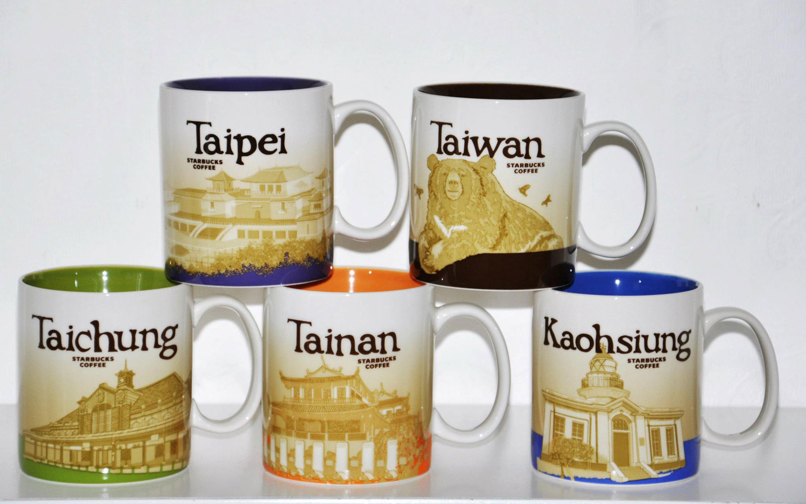 City-themed Starbucks Mugs Are the Best Way to See the World Before Breakfast