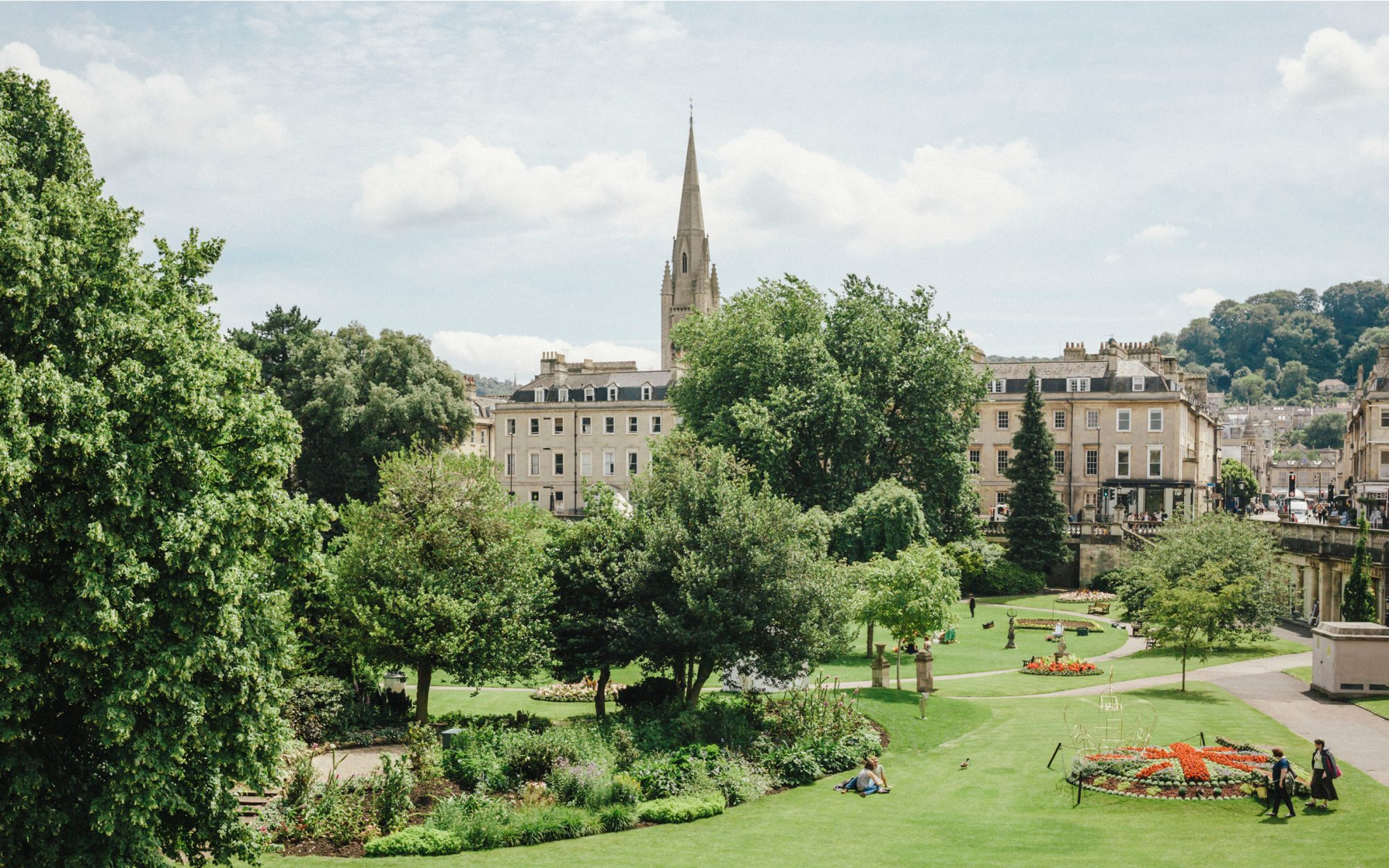 Hotels and Restaurants in Bath, England