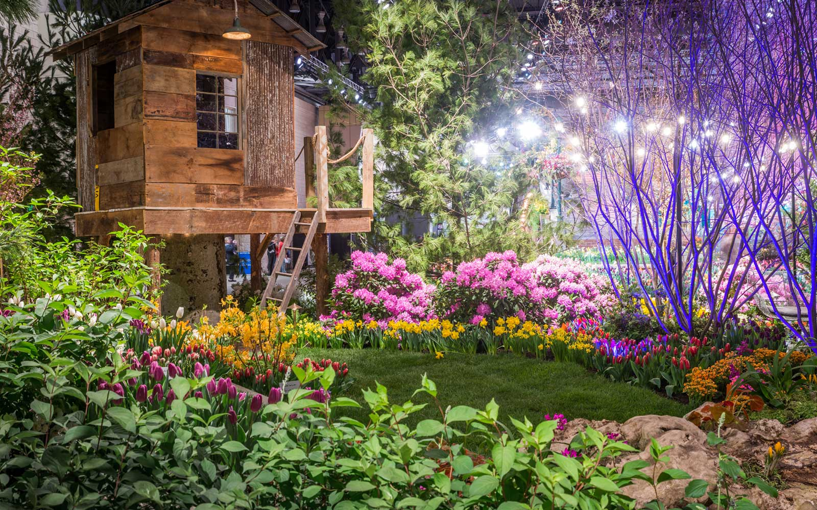 Inside the Philadelphia Flower Show