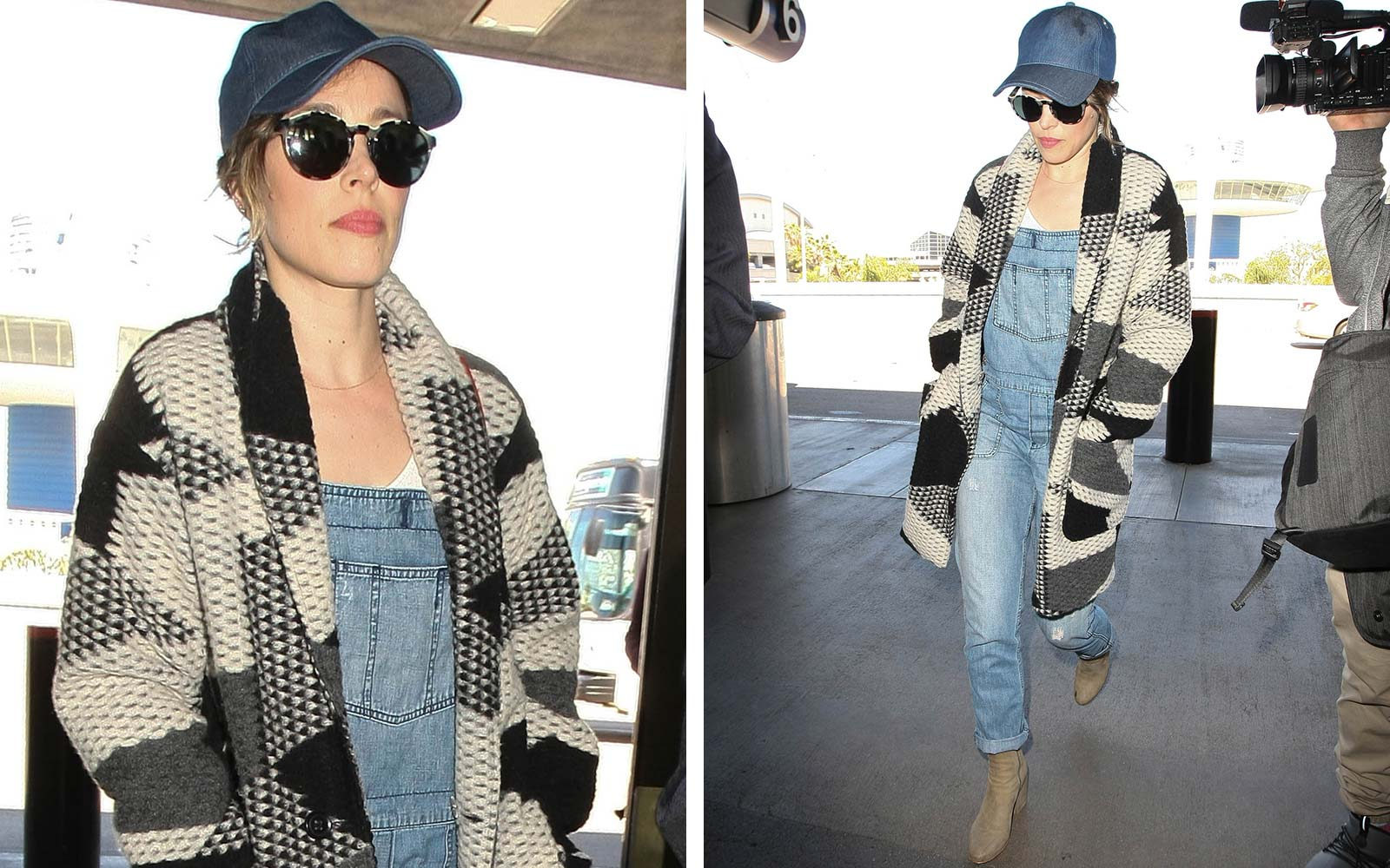 Where to Buy Rachel McAdams' Casual-Chic Airport Style