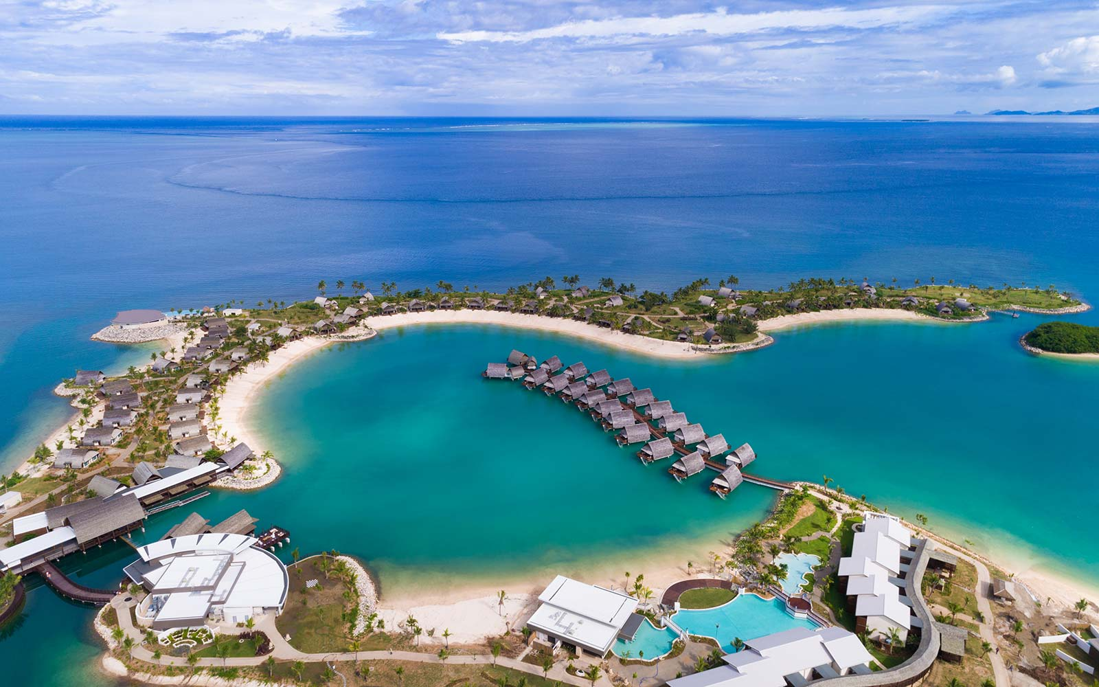 Sleep Over A Crystal Clear Lagoon In The First Overwater