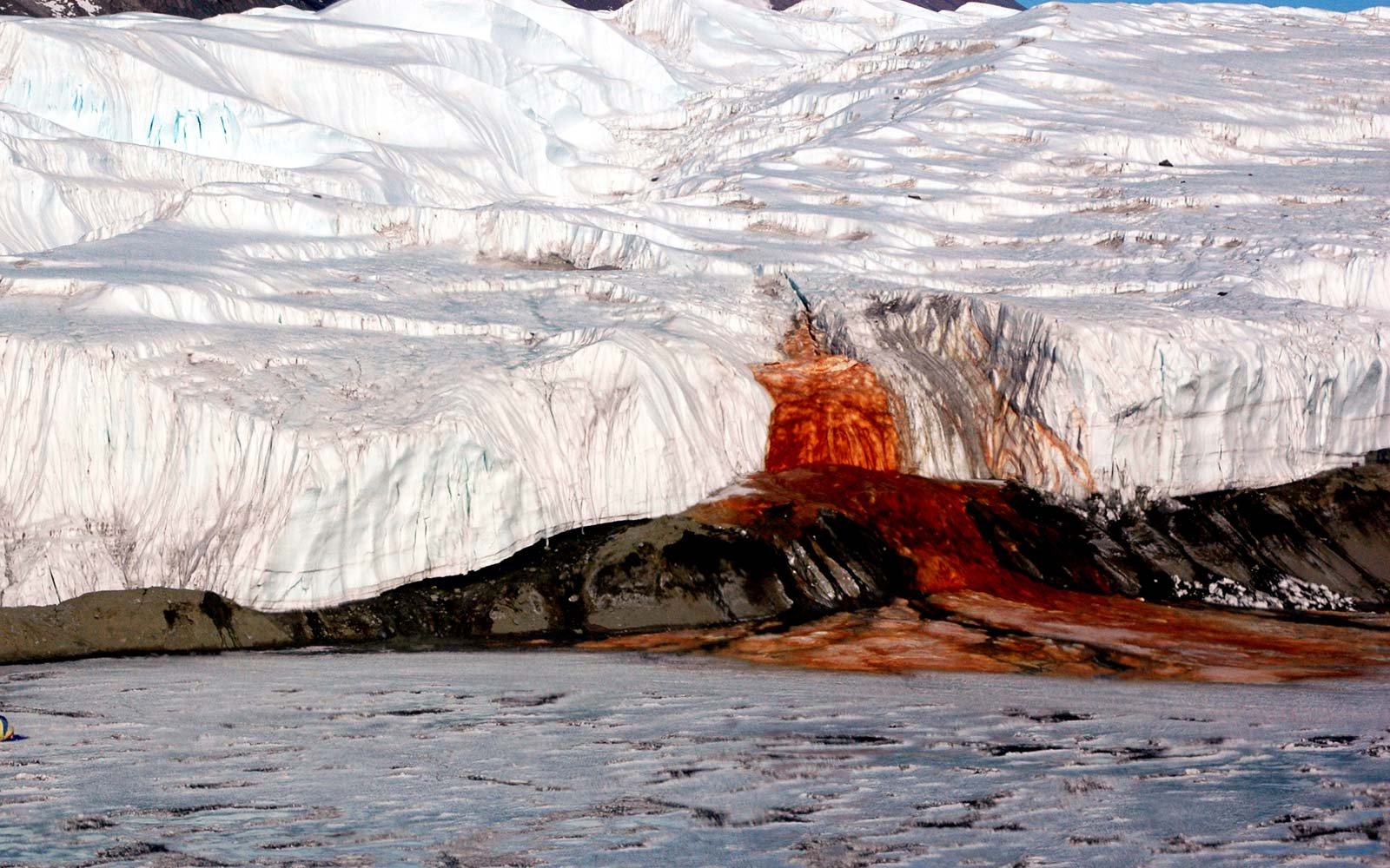 The mystery of Antarctica's Blood Falls has finally been solved