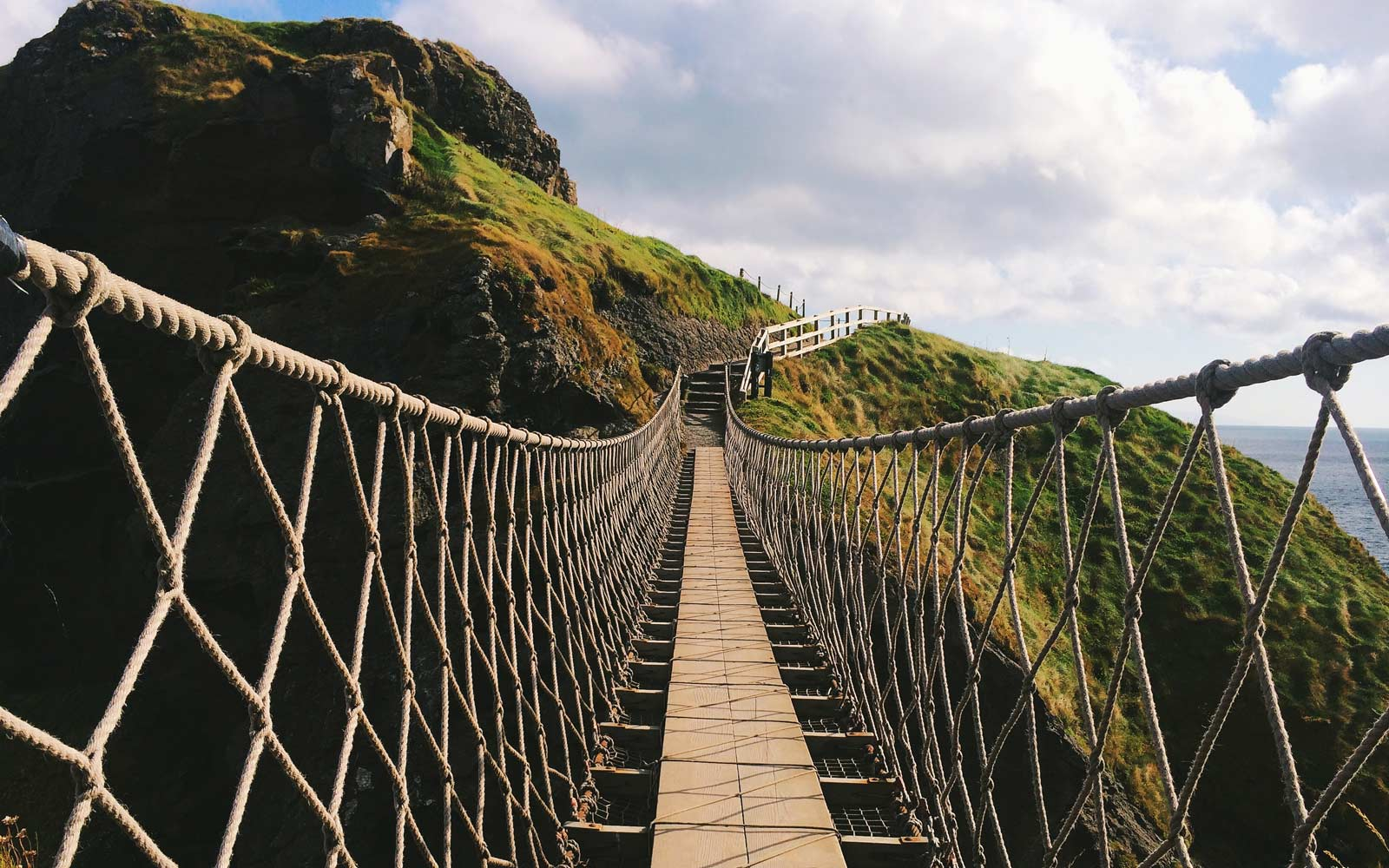 The Carrick-a-Rede Rope Bridge Is So Popular You Need a Ticket to Cross
