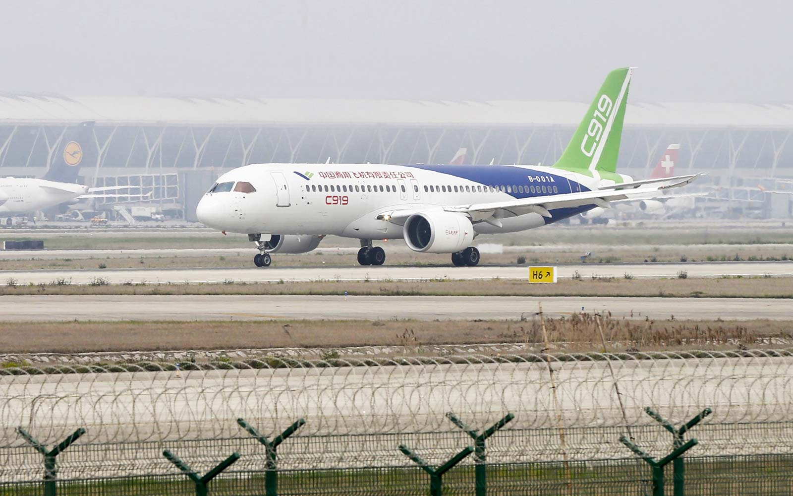 China's First Passenger Jet Has Been Cleared for Takeoff