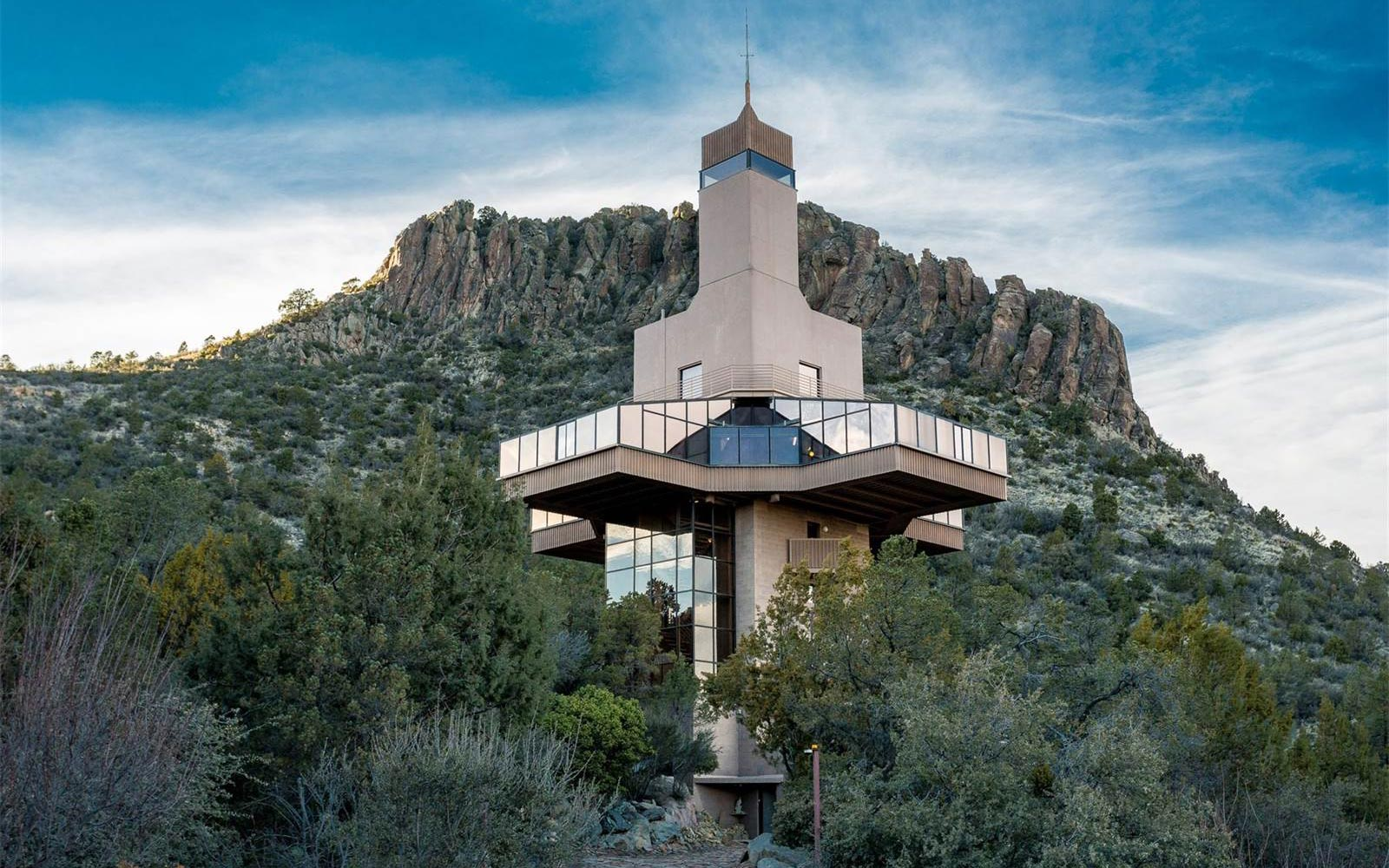 The Tallest Home in North America Is For Sale, and It's Straight Out of a Bond Movie