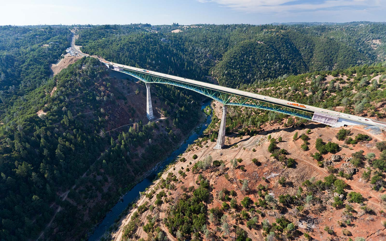 Woman Falls Off California's Tallest Bridge While Attempting to Take a Selfie