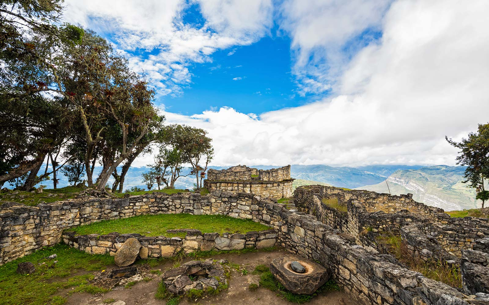 Kuelap Lost City Fortress Peru Ruins