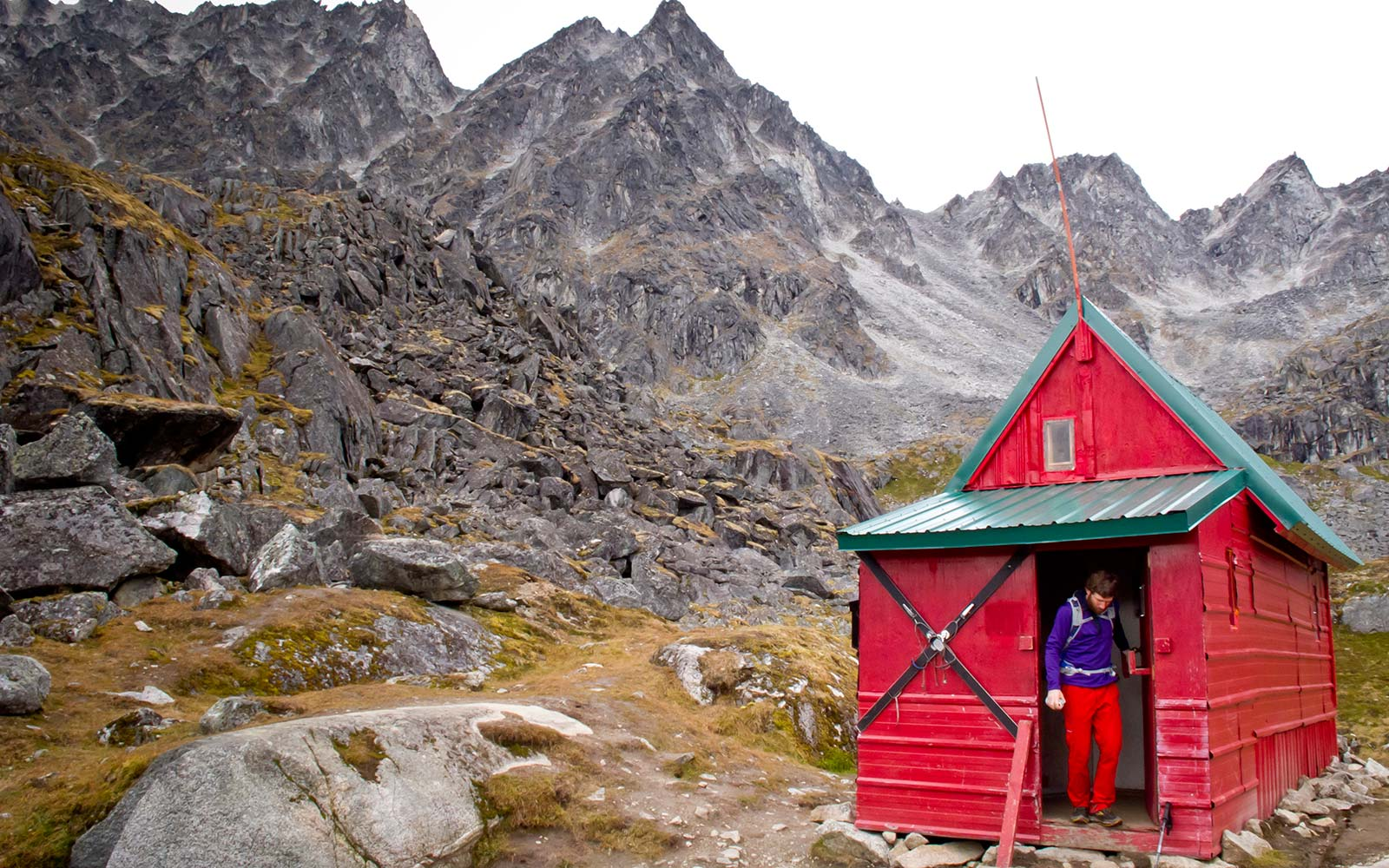 You can stay in this cabin in Alaska for free