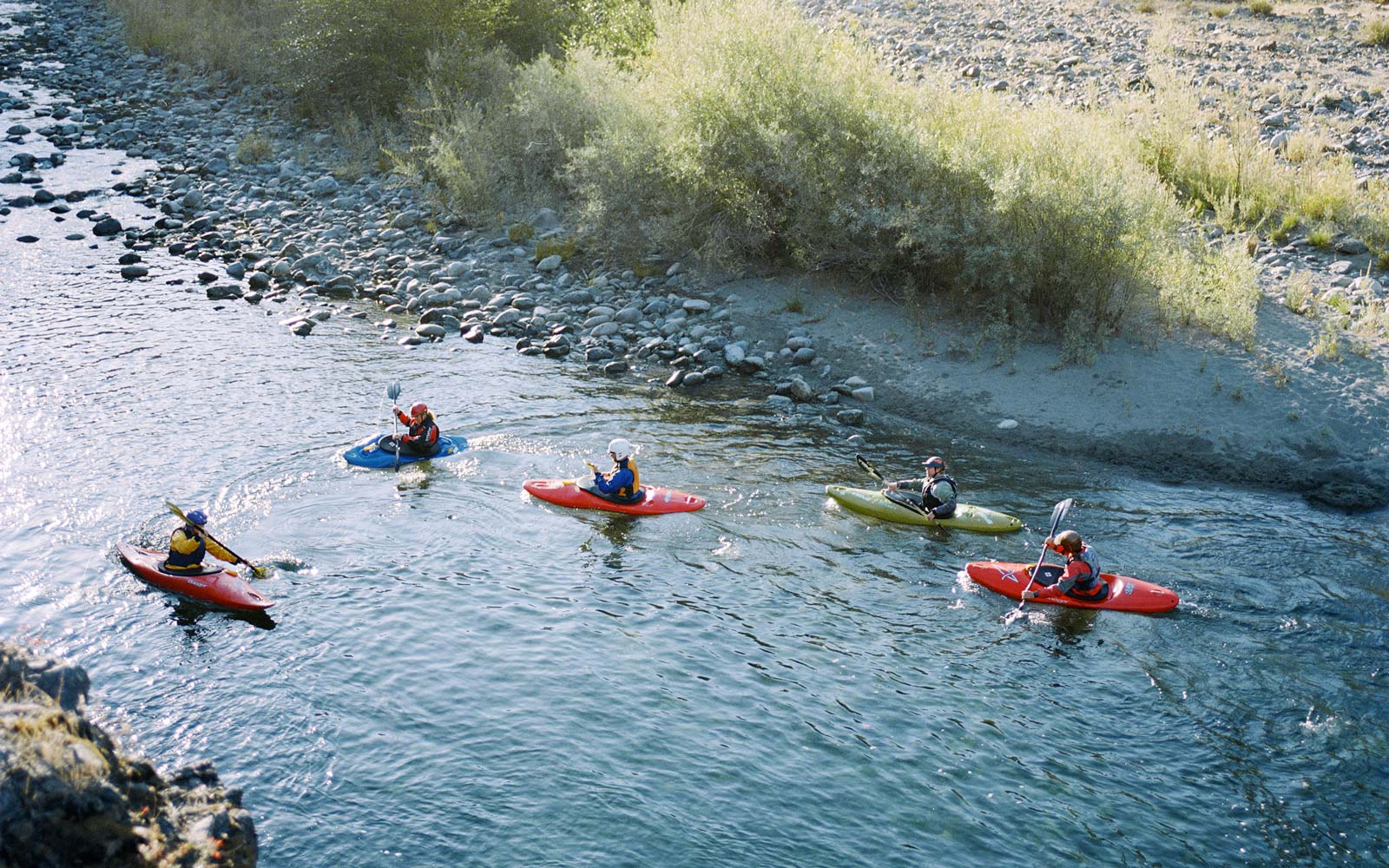 Getting Away From It All on a Kayak in Northern California
