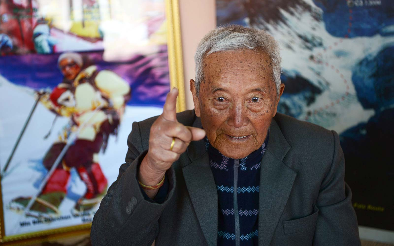 85-year-old trying to break Everest record again