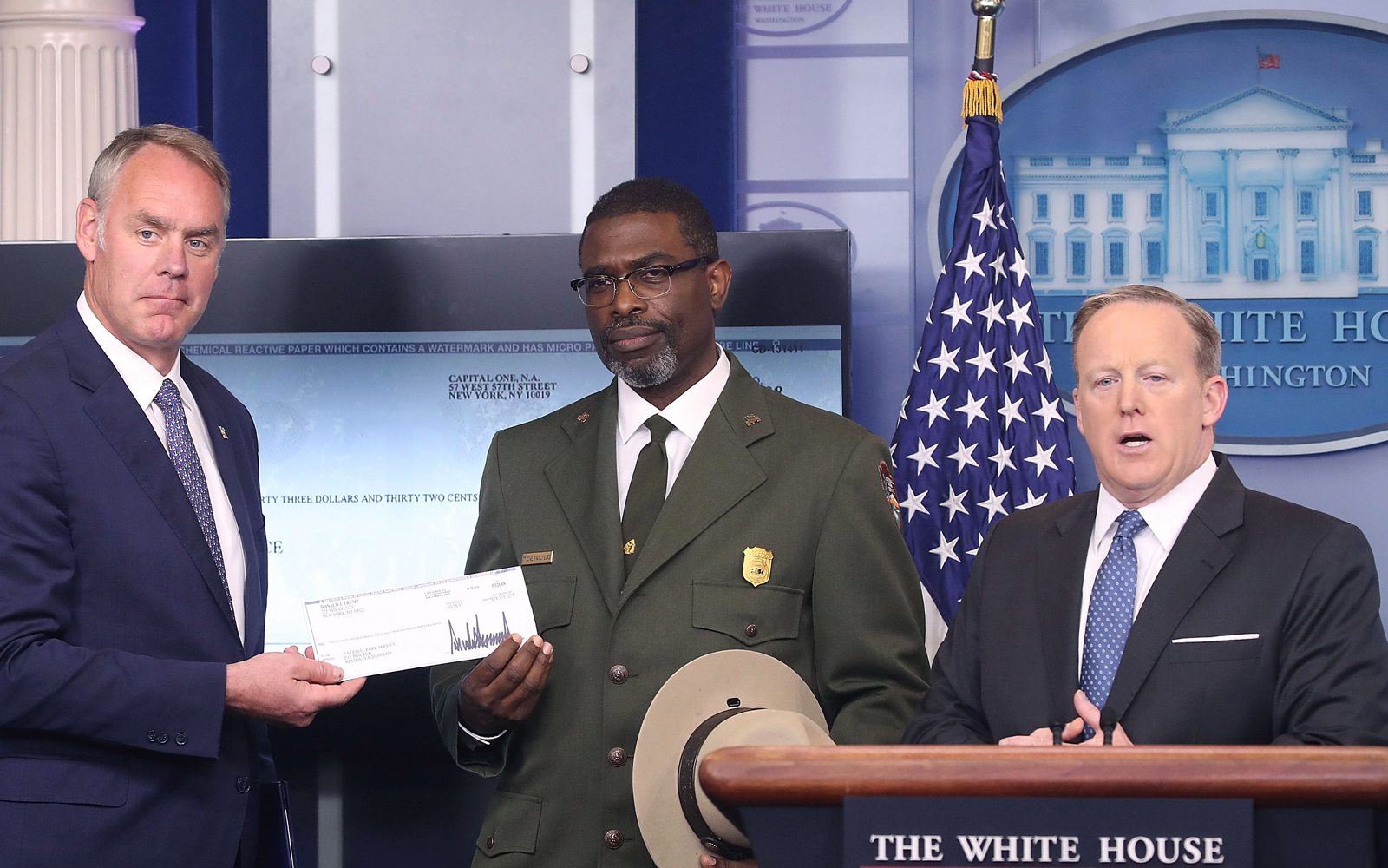 President Trump Donated $78K From His Salary to the National Parks, but He Wants to Cut the Department That Funds It by $2 Billion
