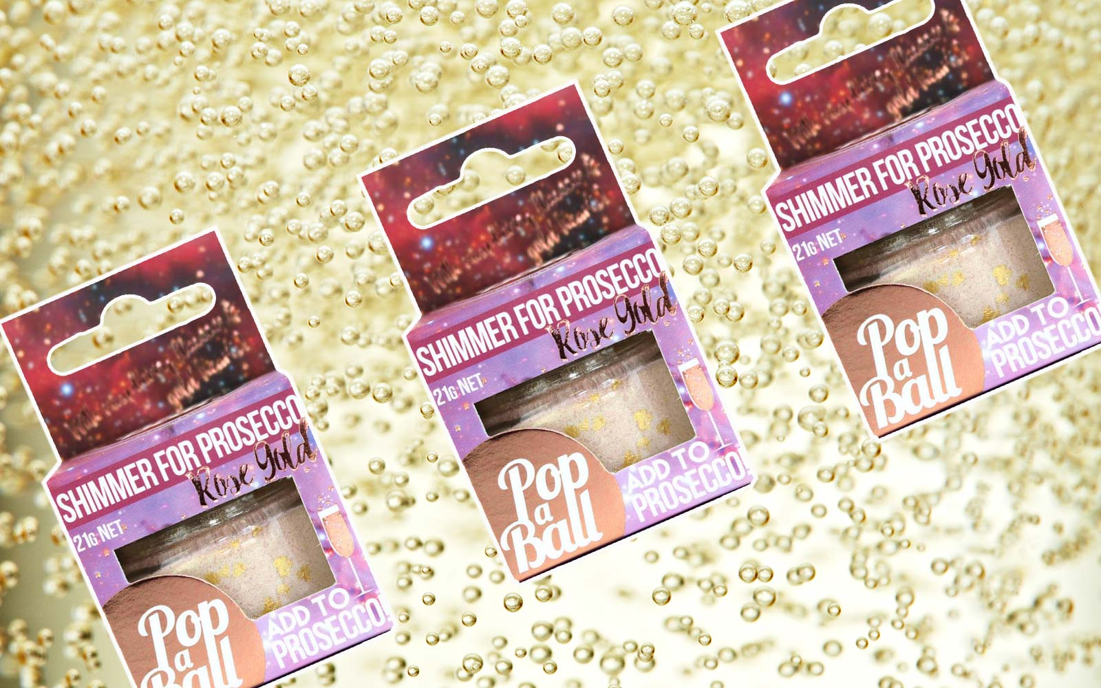 This Edible Glitter for Your Prosecco is a Must-have Party Favor