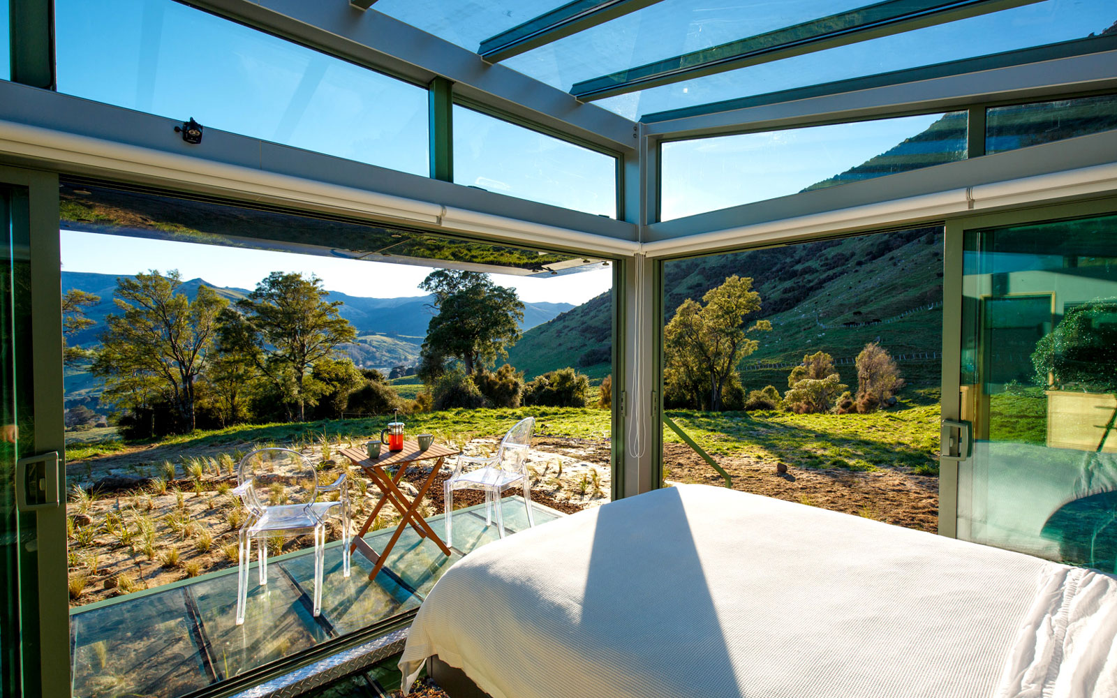 Stay in an All-glass Cabin in New Zealand and Become One With Nature