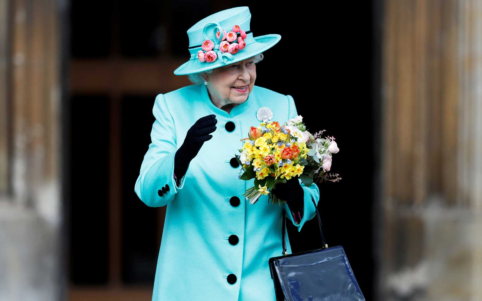 What the Queen and Kate Middleton Wore to Easter Services