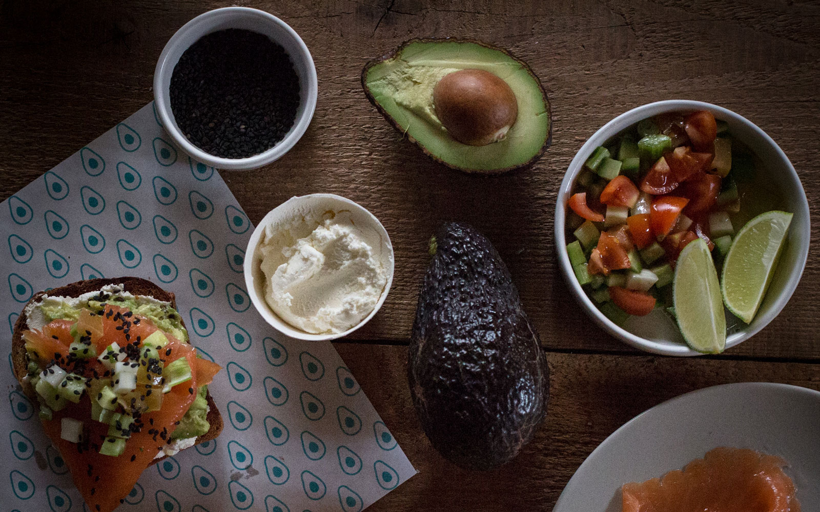 At Brooklyn's New Avocaderia, Avocado Comes on Everything