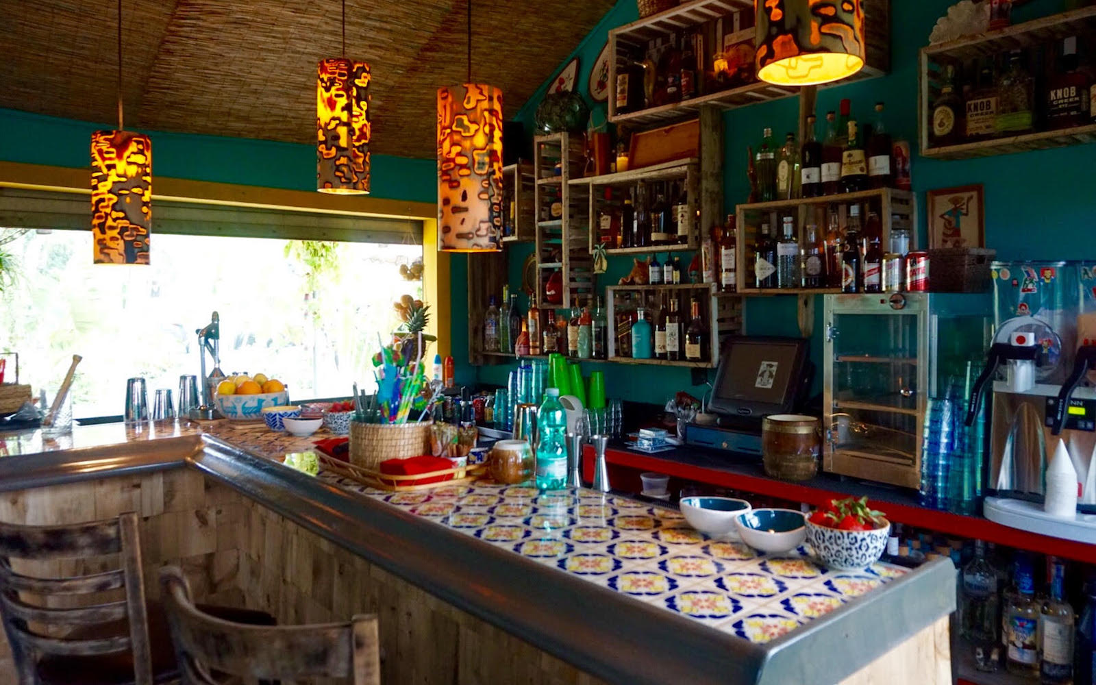 Inside The Shack at The Anderson cocktail bar in Miami