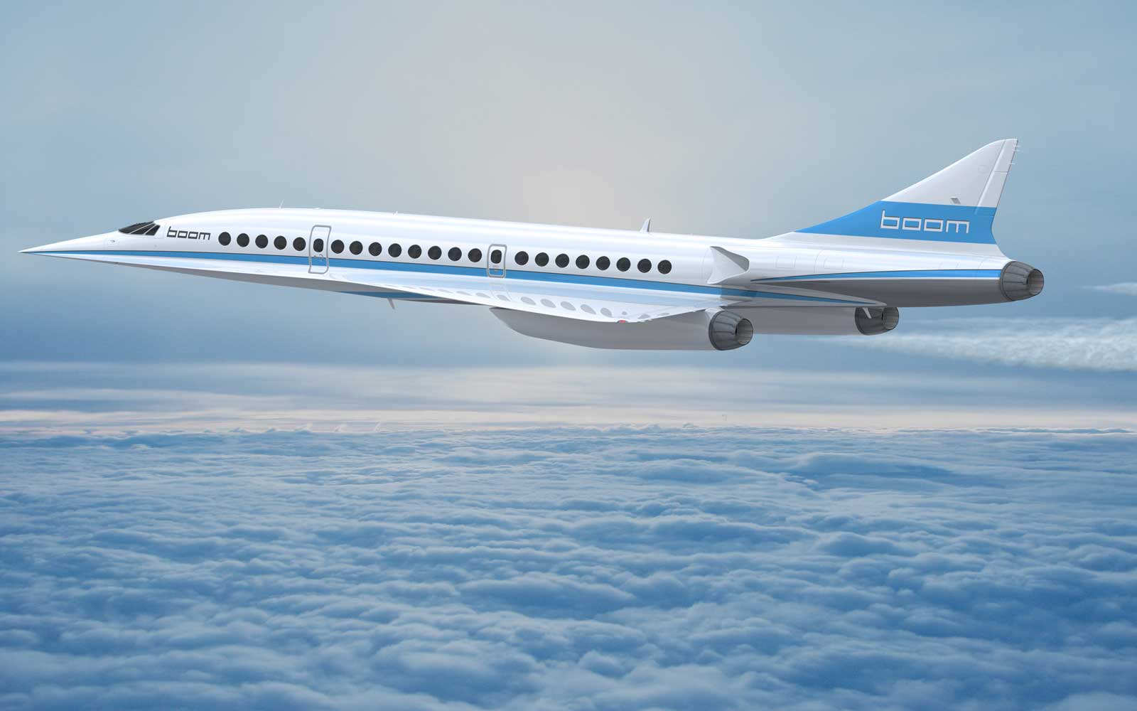 What It Will Be Like to Fly in the Next Supersonic Jet