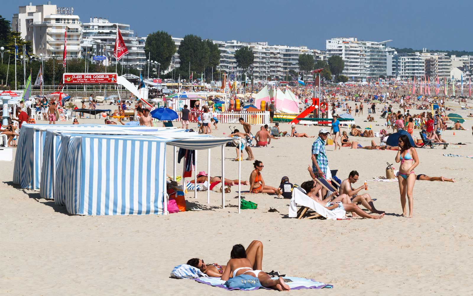 France's most famous beach is being privatized, and the locals are not happy