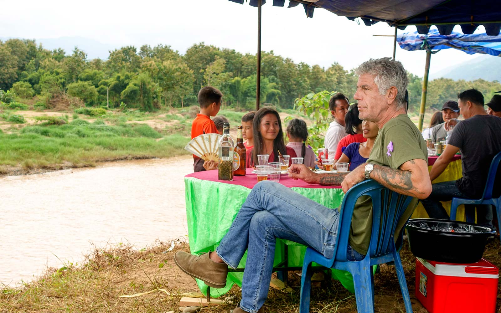 Anthony Bourdain Explores the Dark Hidden History of Laos