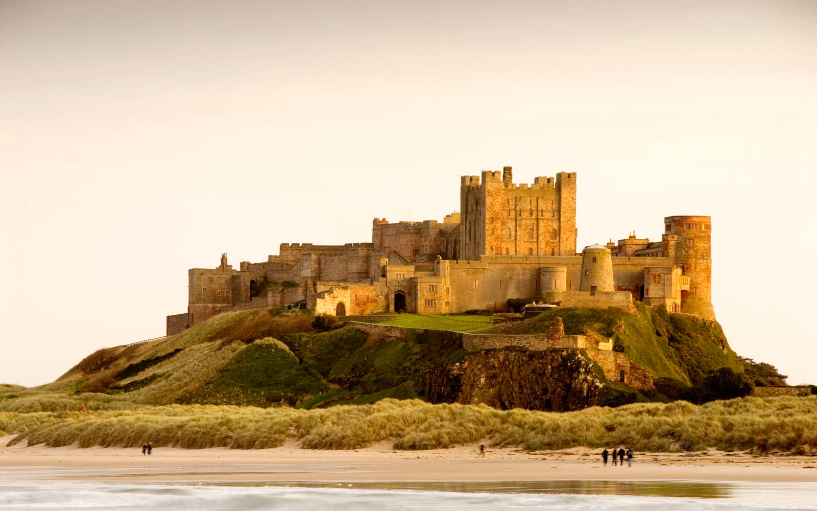 Bamburgh Castle's three-bedroom apartment lets you live like royalty for less