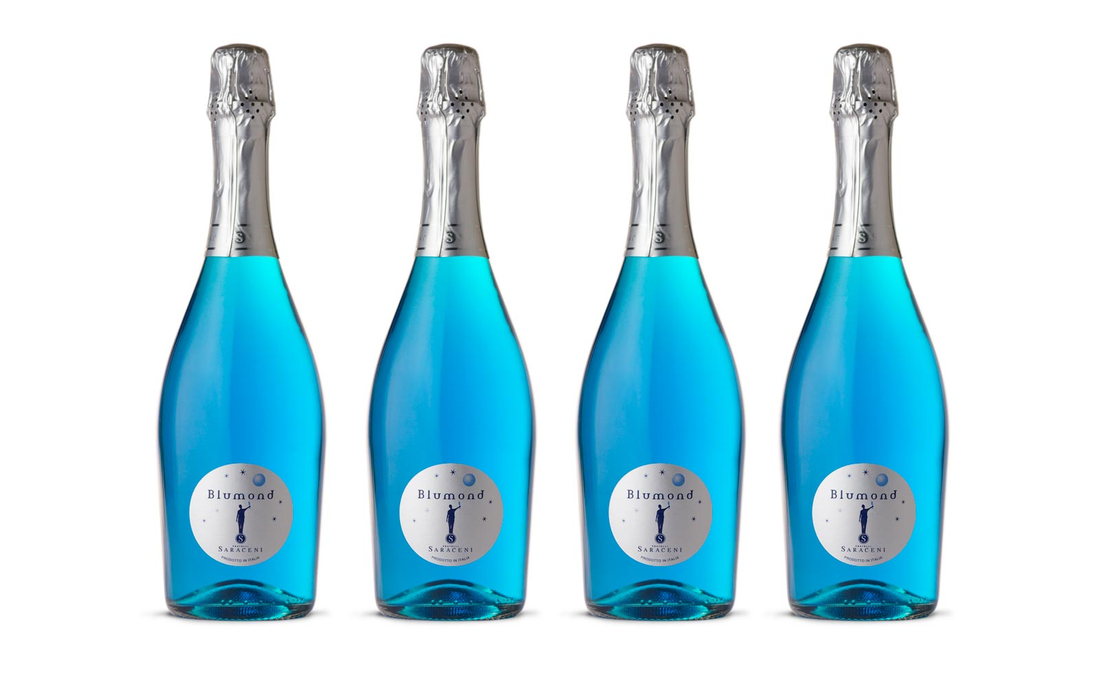 Blue prosecco might just be the most colorful drink of the summer