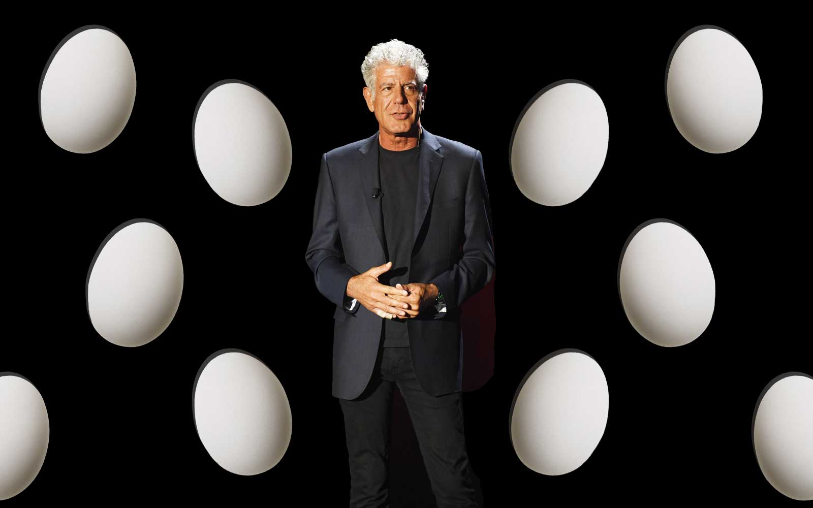 This is the correct way to make an omelette, according to Anthony Bourdain
