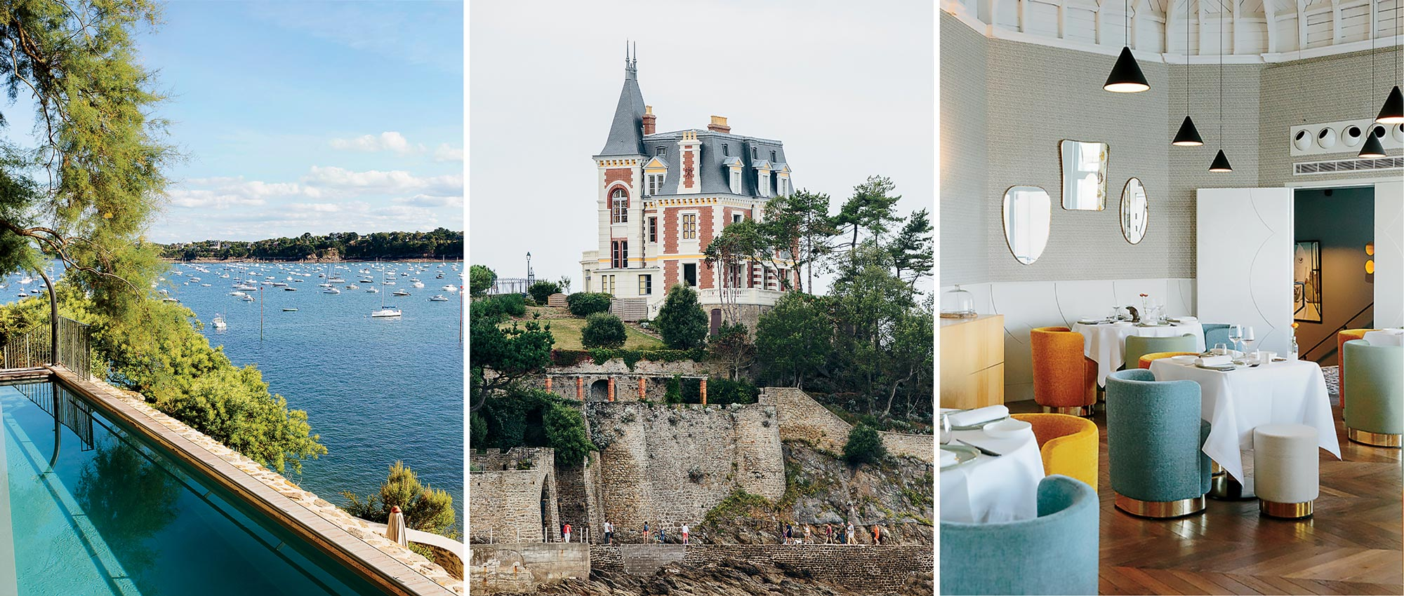 Dinard on Emerald Coast of France
