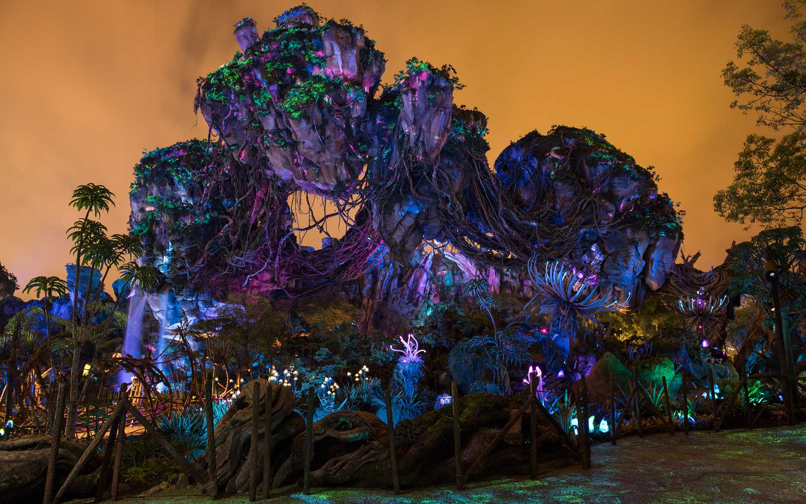Why you'll want to visit Disney's new Avatar theme park at night