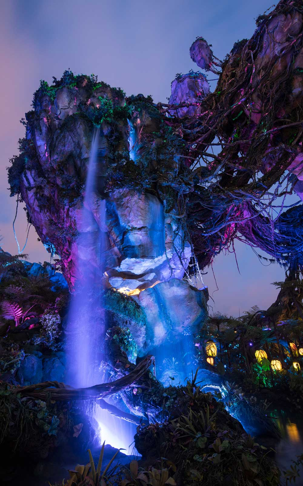 Pandora Disney at Night