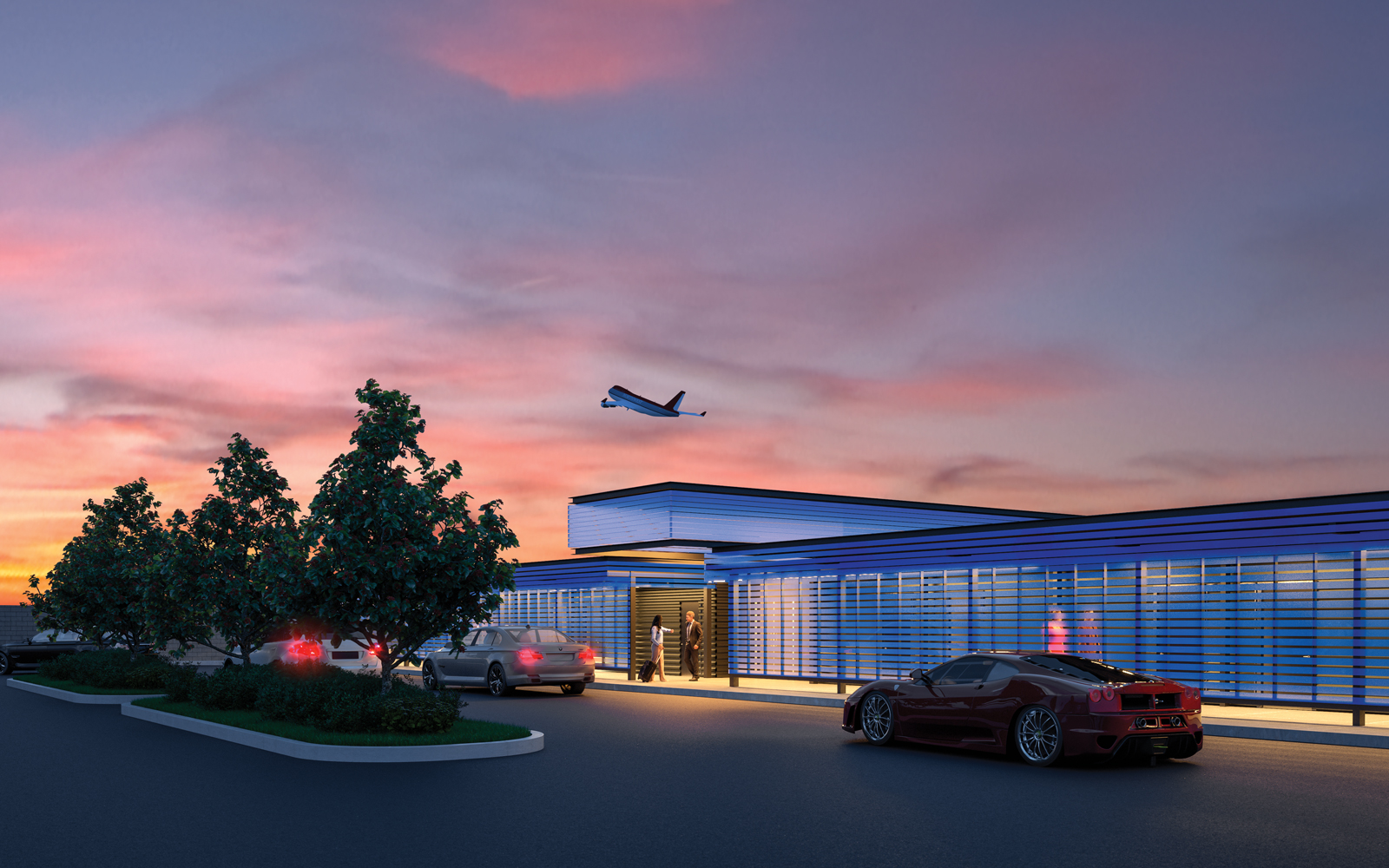LAX has a new luxury terminal that's only available to VIPs