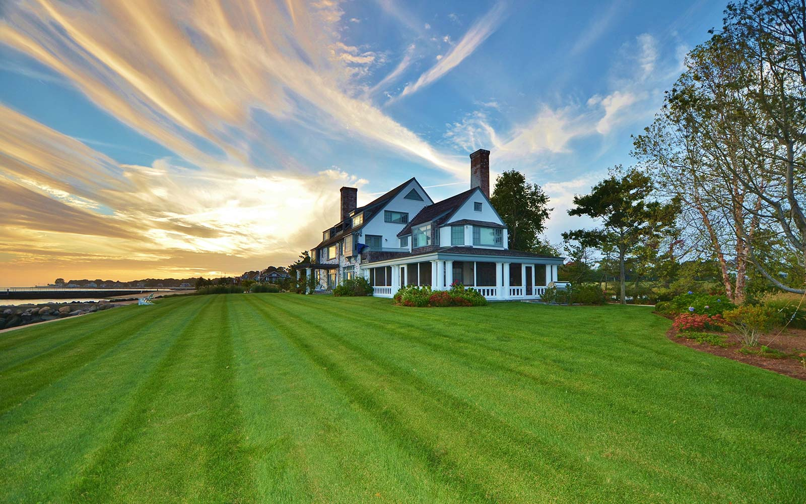 Katharine Hepburn's Fenwick home is on the market, and it's a New England dream
