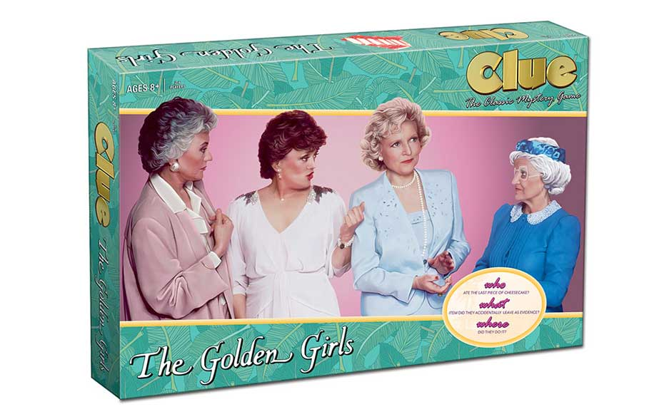 There's going to be a 'Golden Girls' edition of the board game Clue